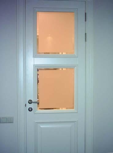 Установка двери на кухню