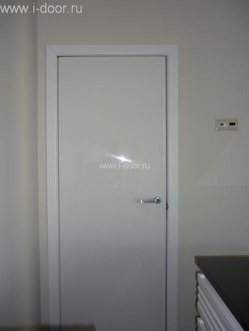 Монтаж двери в туалет