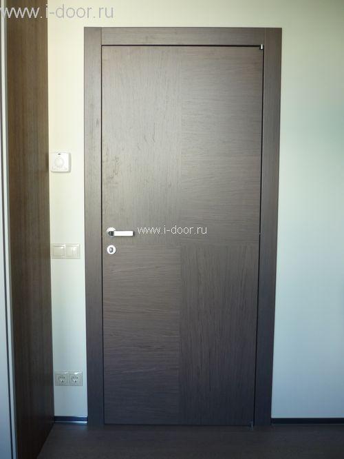 Установка деревянной межкомнатной двери